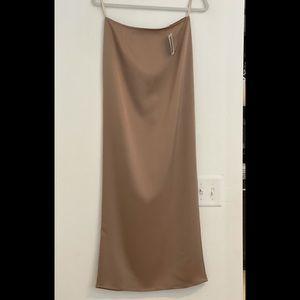 New! Intermix Georgia Alice beige tube skirt 4